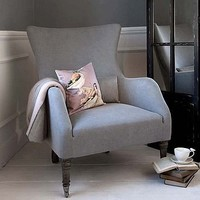 bromley wing back chair by rowen  wren | notonthehighstreet.com