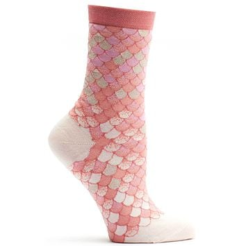 Iridescent Scales Sock