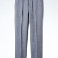 Slim Light Blue Wool Suit Trouser | Banana Republic