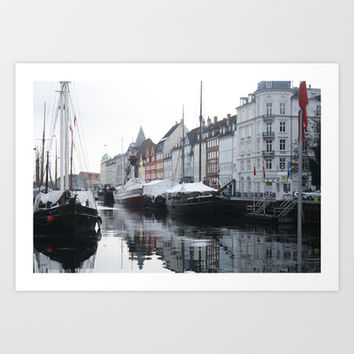 Denmark Art Print by Kayleigh Rappaport
