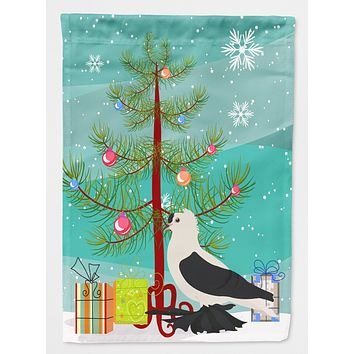 Saxon Fairy Swallow Pigeon Christmas Flag Canvas House Size BB9313CHF