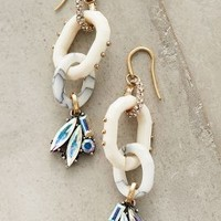Tourterelle Drops by Anthropologie in White Size: One Size Earrings