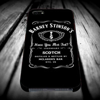 Barney Stinson Have You Met Ted Jack Daniels How I Met Your Mother for iPhone 4/4s/5/5s/5c/6/6 Plus Case, Samsung Galaxy S3/S4/S5/Note 3/4 Case, iPod 4/5 Case, HtC One M7 M8 and Nexus Case ***