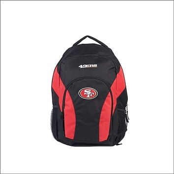 """49ers OFFICIAL National Football League, """"""""Draft Day"""""""" 18""""""""H x 10"""""""" (12"""""""" Back) Backpack  by The Northwest Company"""