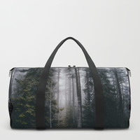 Into the forest we go Duffle Bag by happymelvin