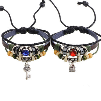 Rivet Vintage Couple Bracelet = 5858292865