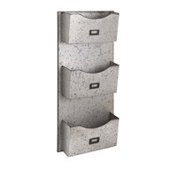 Galvanized Wall Hanging File Holder