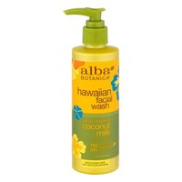 Alba Botanica Hawaiian Facial Wash Deep Cleansing Coconut Milk, 8.0 FL OZ - Walmart.com