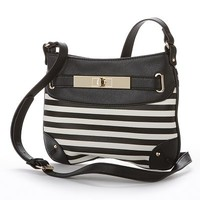Apt. 9® Sarah Striped Crossbody Bag