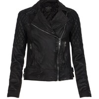 AllSaints Walker Leather Jacket | Womens Leather Jackets