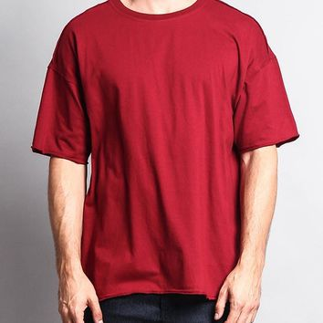 Men's Basic Over Sized T-Shirt TS7066 - FF1B