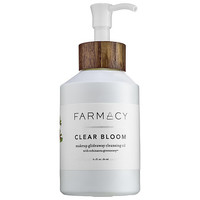 Farmacy Clear Bloom Makeup Glideaway Cleansing Oil (6.1 oz)