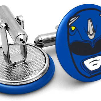 Power Rangers Blue Cufflinks