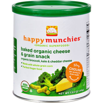 Baked Organic Snacks - Cheese and Veggie - Case of 6