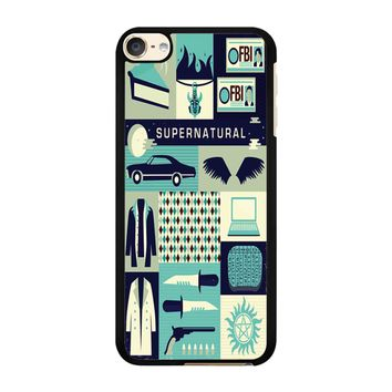 Supernatural 02 iPod Touch 6 Case
