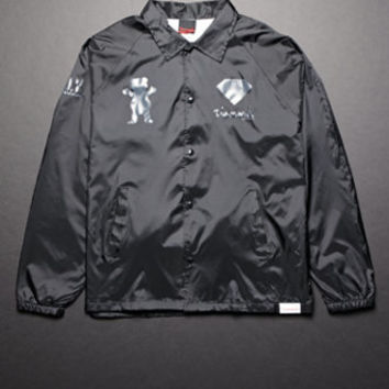Diamond Supply Co Diamond X Grizzly Windbreaker Jacket at PacSun.com