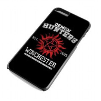 supernatural demon hunters for iphone 6 plus case