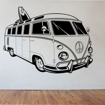 Best Vw Bus Stickers Products On Wanelo