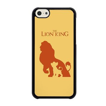 the lion king simba disney iphone 5c case cover  number 1