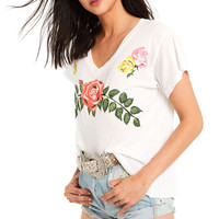 Rodeo Bouquet Romeo V-Neck - Wildfox