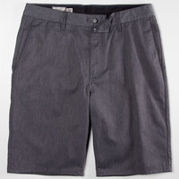 Volcom Frickin Modern Mens Chino Shorts Charcoal  In Sizes