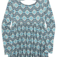 PRINTED BABYDOLL TOP | GIRLS FASHION TOPS TOPS | SHOP JUSTICE