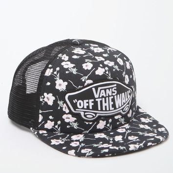 Vans Beach Girl Trucker Hat - Womens Hat - Graphite - One