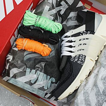 Off-White x Nike Air Presto Men Women Sneaker