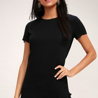 Buenos Aires Black Shift Dress