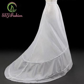 The Bride Petticoats for Wedding Dress Sweep Train Underskirt Lining Accessories