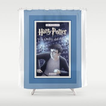 potter y la orden del fenix Shower Curtain by Kathead Tarot
