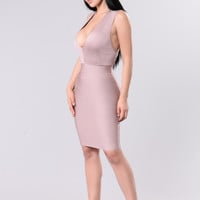 Anthem Dress - Mauve