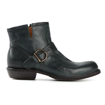 Fiorentini +  Baker buckled ankle boots