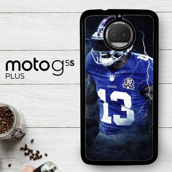 Odell Beckham Jr New York Giants X5642  Motorola Moto G5S Plus Case