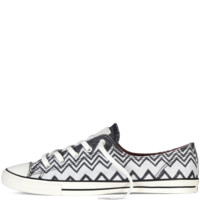 Converse - Converse X Missoni Chuck Taylor All Star Fancy - Black / Egret - Low