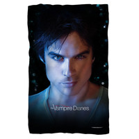VAMPIRE DIARIES/DAMON EYES-FLEECE BLANKET