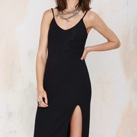 Nasty Gal Wild World RIbbed Tank Dress