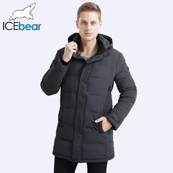 2017 Soft Fabric Winter Men's Jacket Thickening Casual Cotton Jacket Winter