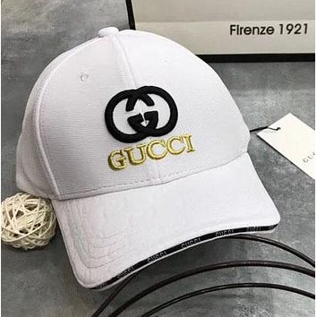 Gucci Women Men Fashion Casual Embroider Baseball Caps Hats High density elastic mesh G