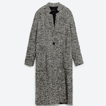 WOOL MAXI COAT - View all-OUTERWEAR-WOMAN | ZARA United Kingdom