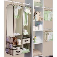 Delta Nursery Closet Organizer - Beige (24 Pieces)