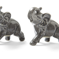 Elephant Salt & Pepper Shakers, Gray, Salt & Pepper, Accessories