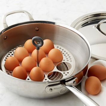 Williams-Sonoma Stainless-Steel Egg Boiling Rack