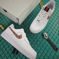 Guuci x Nike Air Force 1 07 LV8 AF1 Low Fashion Shoes - Best Online Sale