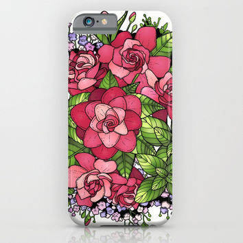 Roses iPhone & iPod Case by MIKART