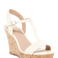 Libra Cork Wedge Sandal