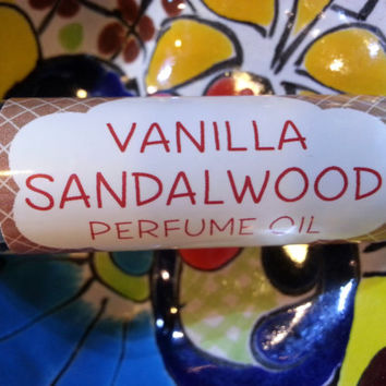 Vanilla Sandalwood Perfume Oil ~ Roll on Oil