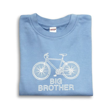 Big Brother Bicycle Short Sleeve Tee