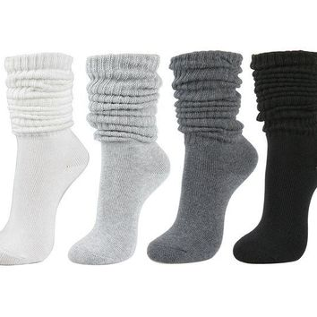 DCCK2JE Women's Fall Winter Slouch Knit Socks