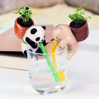 Animal Self Watering Plant Pot